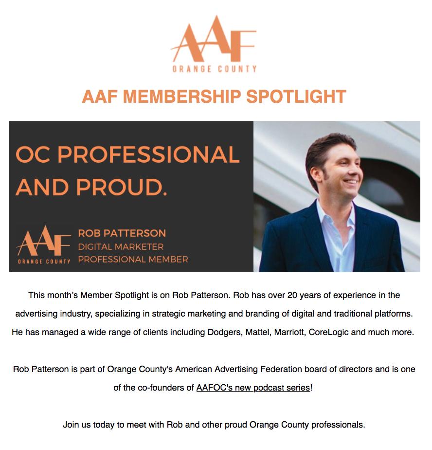 AAF Member Spotlight